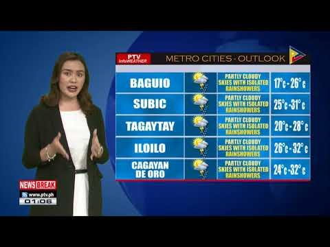 PTV INFO WEATHER: Hanging Amihan, patuloy na umiiral sa dulong Hilangang Luzon