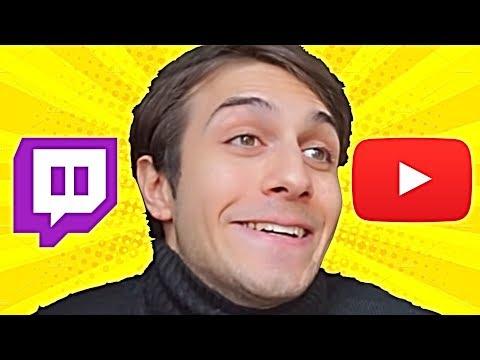 Caro BLUR, Twitch è MOLTO MEGLIO di YouTube