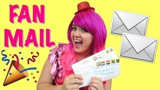 opening fan mail send me your fan mail drawings   kimmi the clown