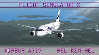 Helsinki - Kemi - Helsinki · A319 · FSX:SE · VATSIM