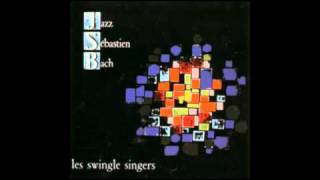 les swingle singers -  JAZZ SEBASTIEN BACH 1/23 - Fuga in REm da L