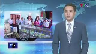 Nông thôn mới - Đoàn thẩm định tại huyện Vĩnh lộc - làng Đồng minh háo hức đón chào đoàn về làng