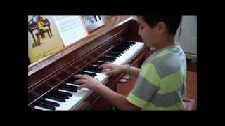 Kid Piano: Andrew Ayoub Playing