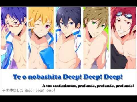 Free!   Splash Free (Lyrics)