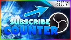YouTube ABONNENTEN im STREAM, OBS anzeigen! ⭐ TUTORIAL ⭐ LIVE YOUTUBE SUBSCRIBE COUNTER