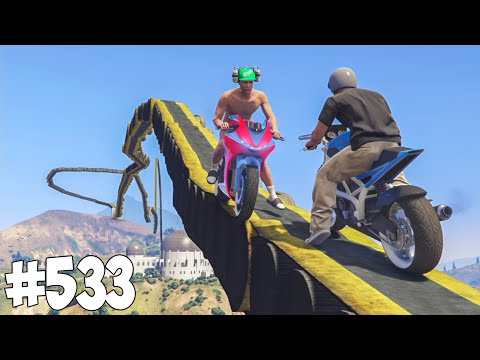 100% IMPOSSIBLE ! MARSUPILAMI ! GTA 5 ONLINE COURSE #533
