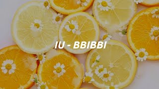 IU (아이유) - 'BBIBBI' Easy Lyrics