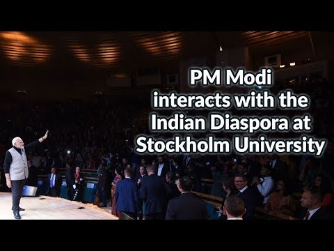 PM Modi to meets Indian community at Stockholm University