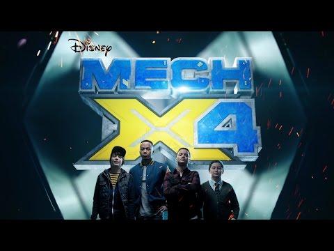 Heroes Trailer | MECH-X4 | Disney Channel