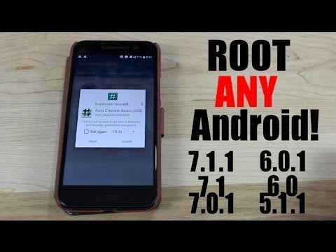 7 1 1   HOW TO ROOT ANY DEVICE RUNNING ON NOUGAT   7 0   6 1 1   6 0   ROOT  ANY DEVICE