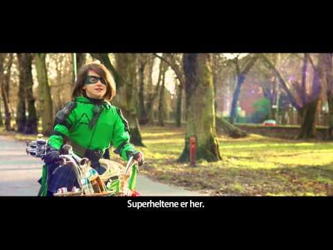 Youtube preview av filmen Supergirl 15 sekunder