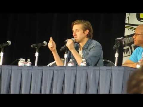 Arthur Darvill Panel at DC Awesome Con   May 30, 2015