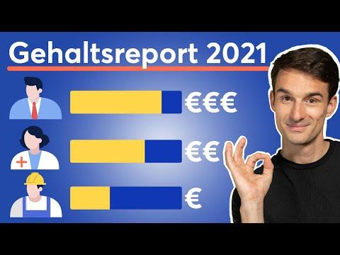 Gehaltsreport 2021: Die bestbezahlten Berufe und Branchen in Deutschland! | Gehaltsstudie