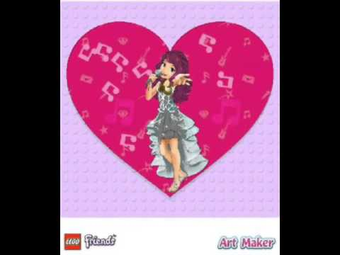 Lego Friends Art Maker App