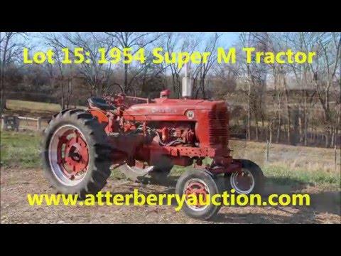 1954 farmall super m tractor youtube. Black Bedroom Furniture Sets. Home Design Ideas