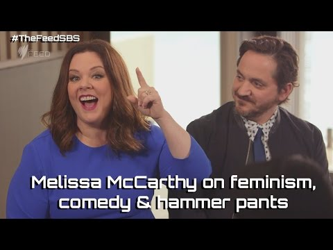 Melissa McCarthy on feminism, comedy & hammer pants - The Feed