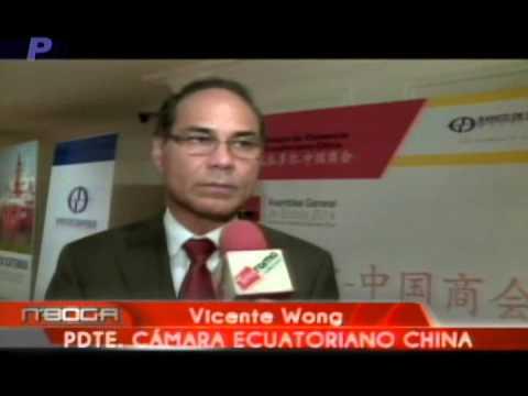Cámara de Comercio Ecuatoriano China realizó informe del año 2013