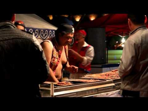 Xinjiang food festival in Changshu.