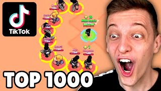 TOP 1000 TIKTOK IN BRAWL STARS! 😱
