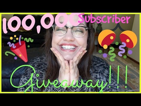 (closed)-100,000-subscriber-giveaway!!!