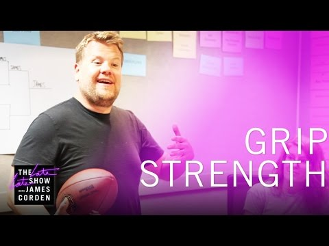 Thumbnail: The Late Late Show Grip Strength Competition