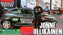 Renault Trucks ja kilpa-autoilija Jonne Ollikainen yhteistyöhön