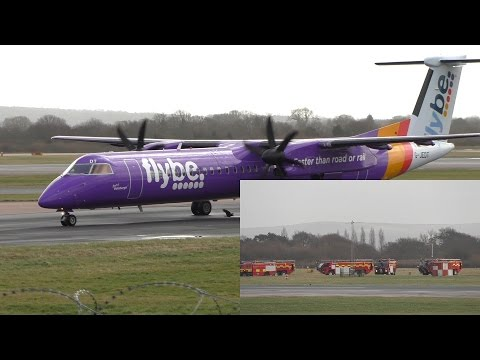 Flybe 2HR Edinburgh to London City Diversion to Manchester