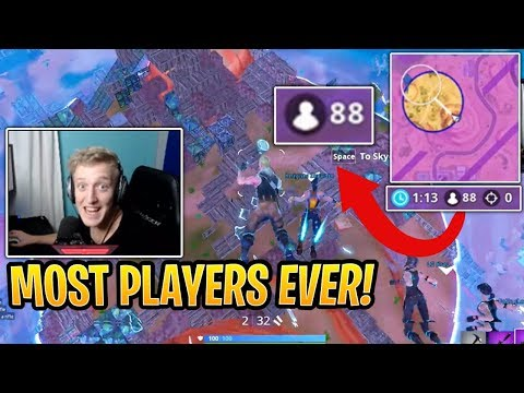 Tfue with 88 Players Left in the Last Storm Circles! - Fortnite Best and Funny Moments