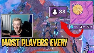 Tfue With 88 Players Left In The Last Storm Circles   Fortnite Best And Funny Moments