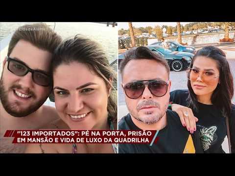 """Celso Russomanno mostra como vivem os integrantes da quadrilha do site """"123 Importados"""""""