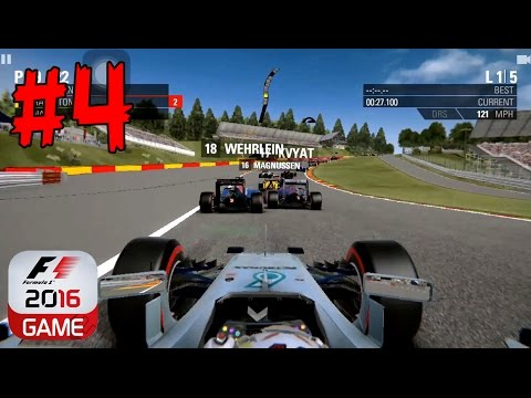 F1 2016 - CUSTOM SEASON - HUNGARY and BELGIUM - iOS/Android Gameplay Mobile Game - EP4