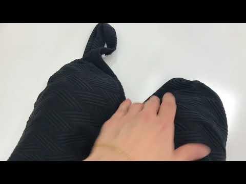 Слитный купальник LS601 черный от Faberlic