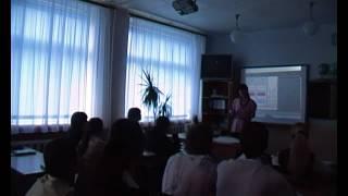 Урок физики в СШ г.Гуково с применением технологий ЮФУ