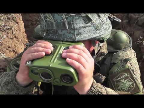 Учение артиллерийских подразделений КФл с использованием КРУС «Стрелец»
