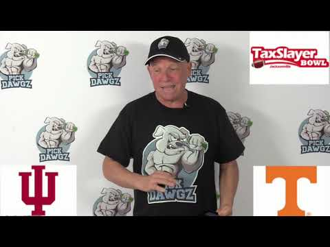 Tennessee vs Indiana 1/2/20 Free College Football Pick and Prediction: Gator Bowl