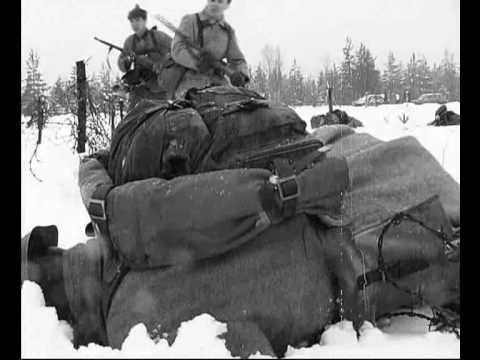 Штурм линии Маннергейма  в 1939-1940 гг  (Mannerheim-linja Clip)