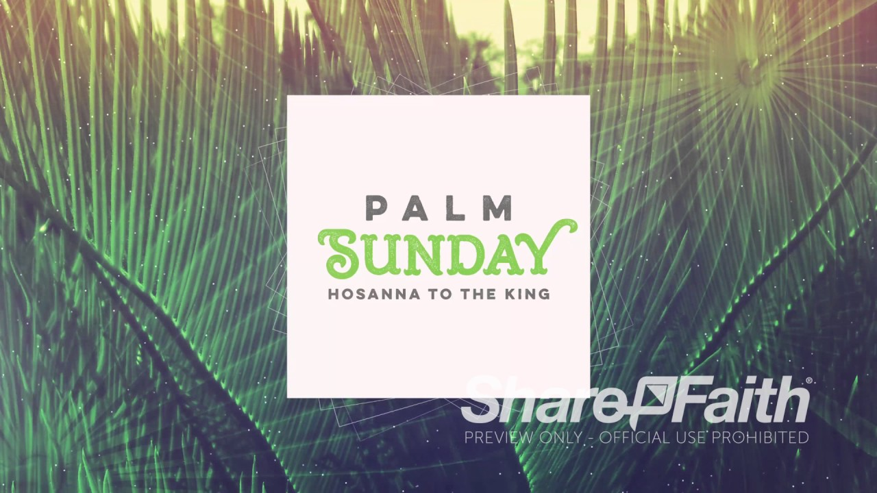 Top Songs for Palm Sunday Services | Sharefaith Magazine