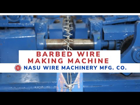 Barb Wire Machine