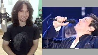 British guitarist analyses k.d. lang performing 'Hallelujah' live in 2005!