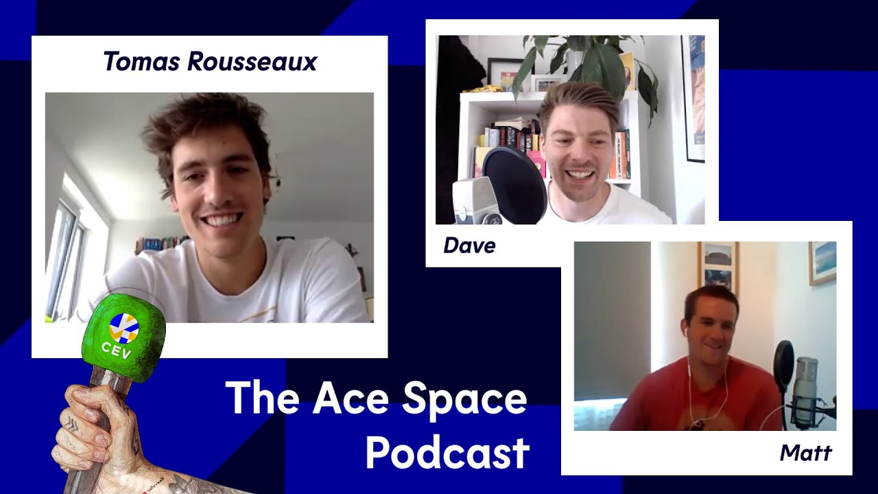 """My first national team match was INCREDIBLE!"" Tomas Rousseaux I The Ace Space Podcast"