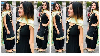 Latest new top 22 black Punjabi suite collection ll latest new black suite design ll new collection