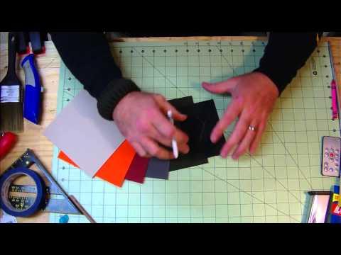 DIY Kydex, Marking Your Kydex