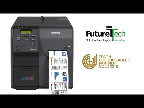 Epson 174 Tm Colorworks C7500 Inkjet Label Printer Doovi