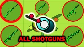 Surviv.io - The M1100: Using All 5 Shotguns (Shotguns Only)