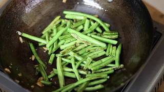 Stir Fried Long Beans & Fried Egg | Sunday Recipes | weight loss Lunch