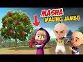 Masha and the bear maling jambu , Upin ipin marah GTA Lucu