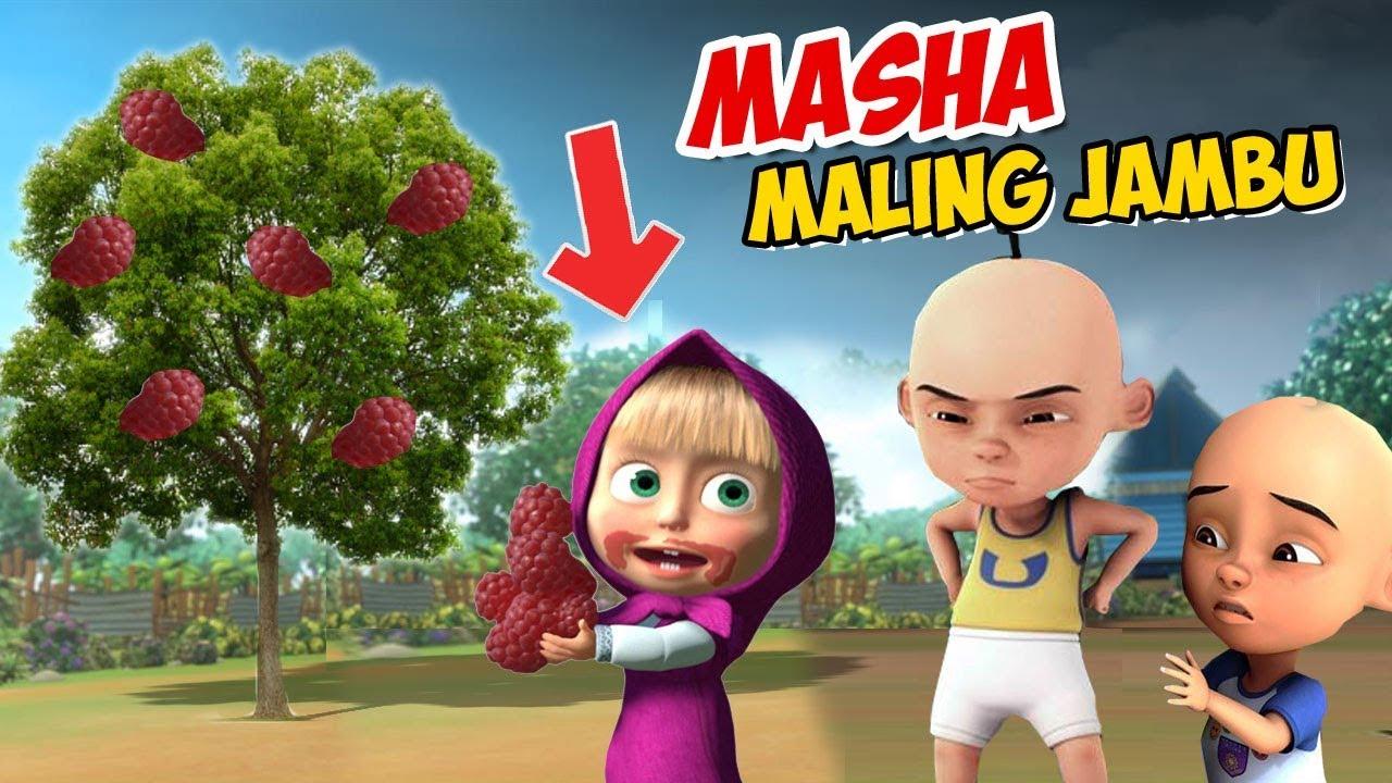 Masha And The Bear Maling Jambu Upin Ipin Marah Gta Lucu Youtube
