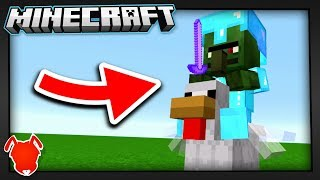 THE RAREST POSSIBLE MOB in MINECRAFT!
