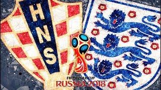Футбол. Чемпионат мира 2018. Хорватия х Англия. Полуфинал.