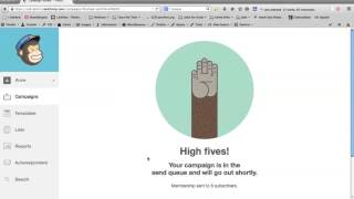 Sending email newsletters with MailChimp - Beginner